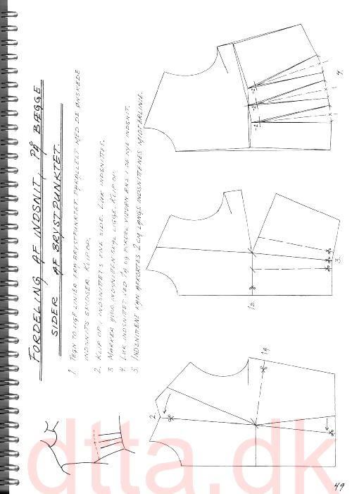 SYSTEM DTTA: PAGE 49 | Tailoring - patternmaking, cutting and sewing | THE DESIGN AND TECHNICAL TAILORING ACADEMY | TILSKÆRERAKADEMIET I KØBENHAVN (KBH)