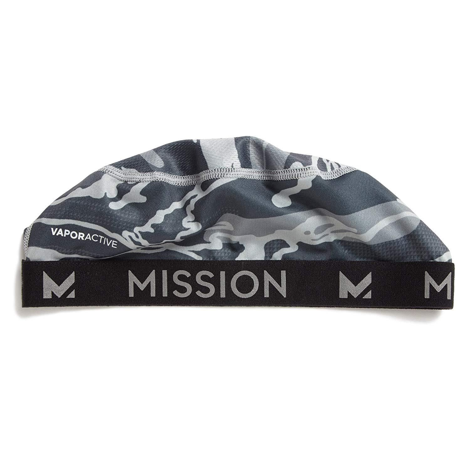 Mission Vaporactive Cooling Skull Cap Matrix Camo Silver One