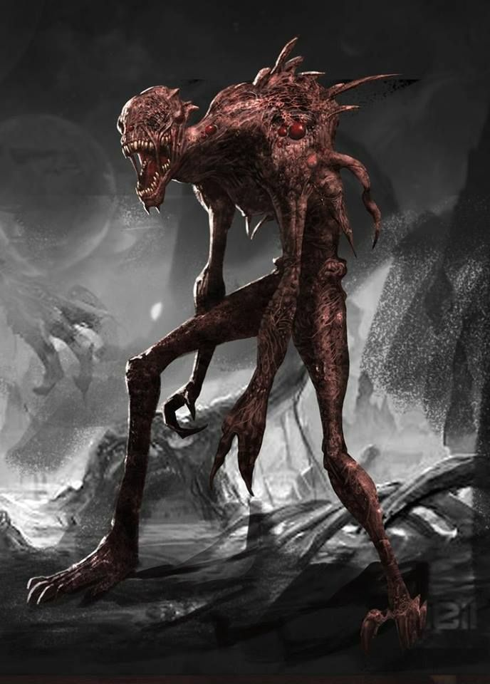 картинки мир чудовищ