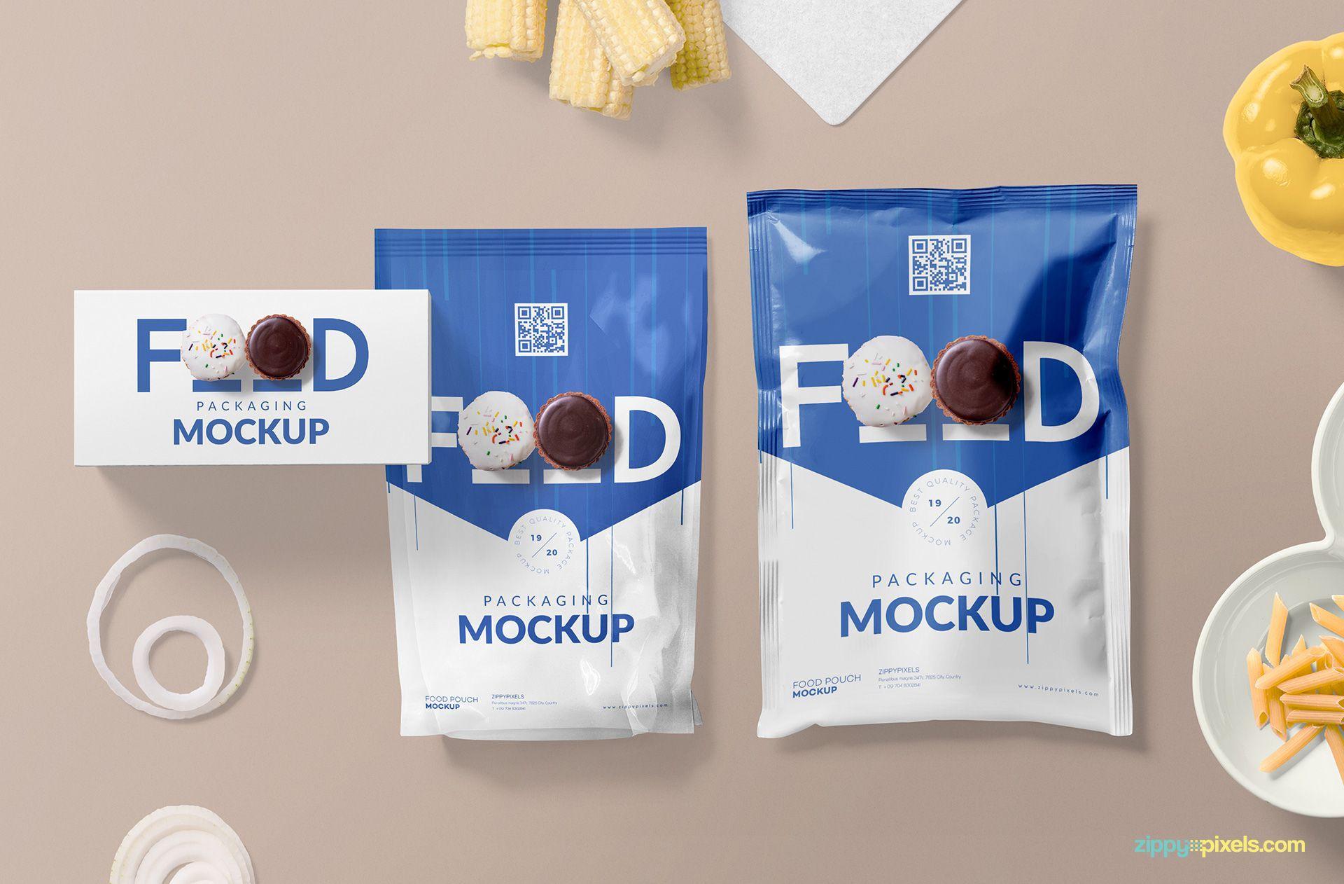 Download Awesome Food Packaging Mockup Free Psd Zippypixels Packaging Mockup Food Packaging Free Packaging Mockup