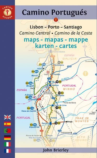 2020 Edition Maps Only Guide To The Camino Portugues With Images
