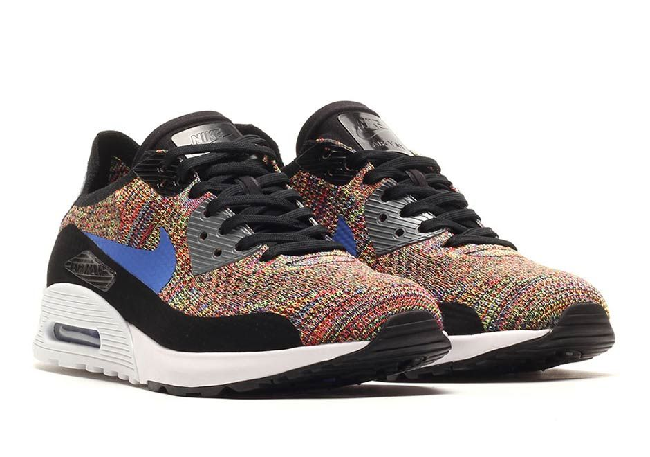 Nike Air Max 90 Ultra Flyknit Multicolor 881109 001