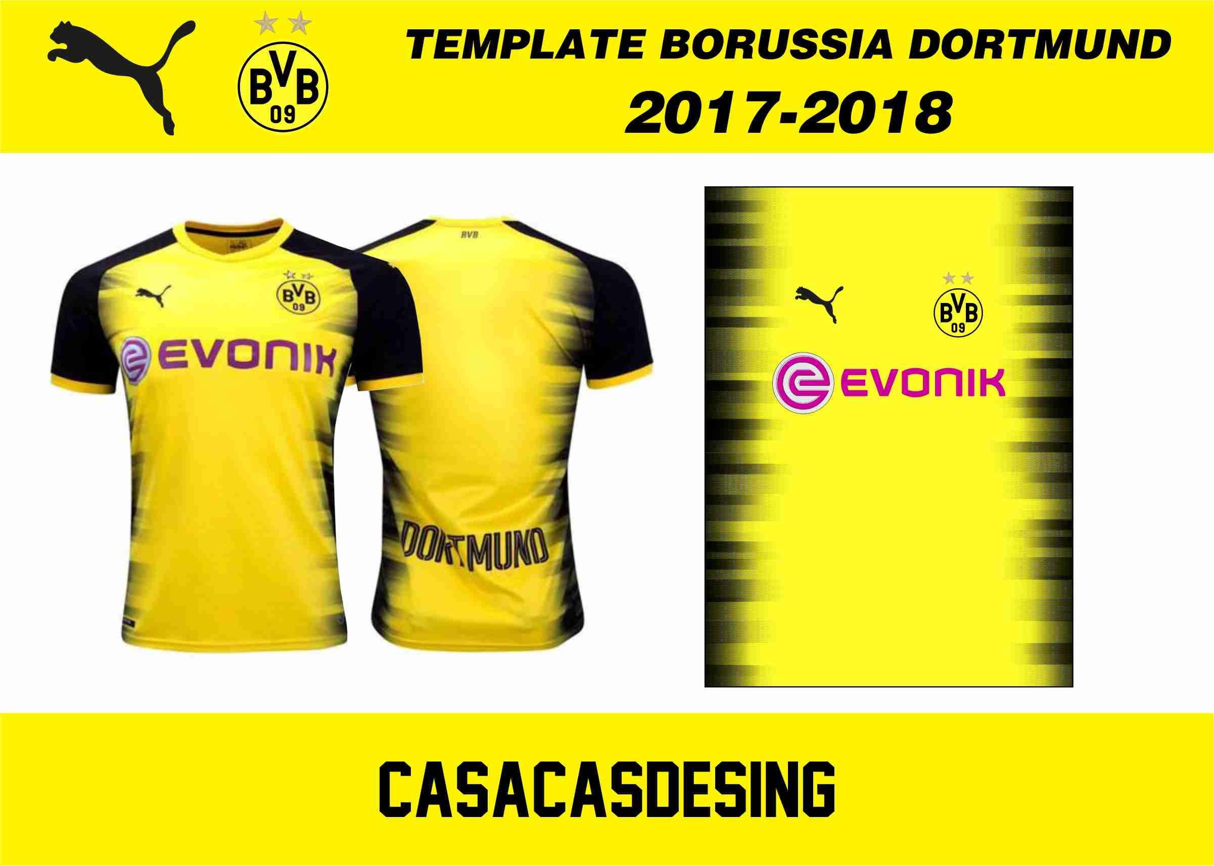 Vector Camiseta Borussia Dortmund 2018 - Camisetas de fútbol, Camisetas deportivas y Remeras de ...
