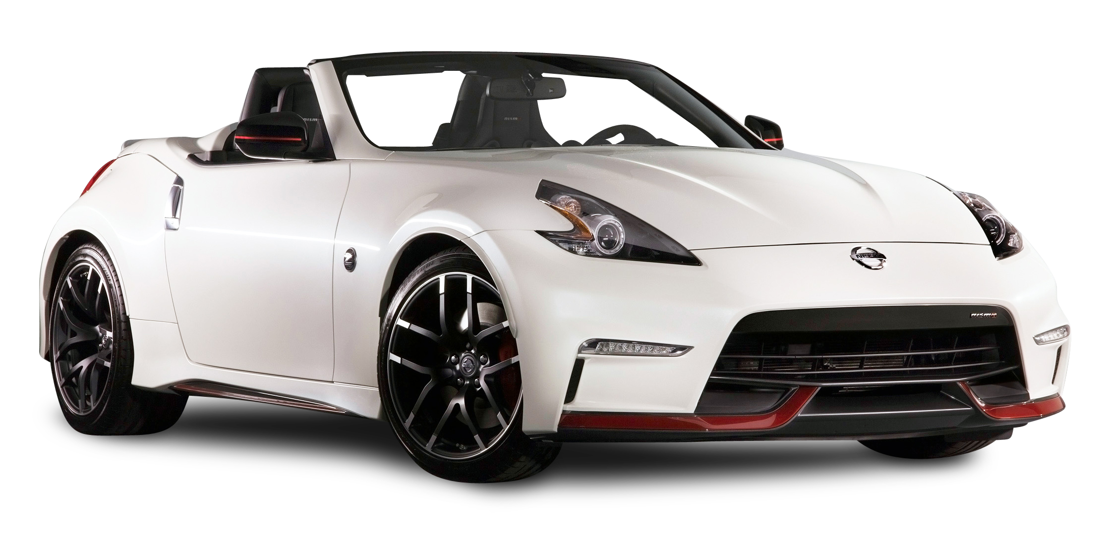Nissan 370Z NISMO Roadster White Car PNG Image Nissan