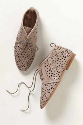 Flore Lasercut Booties...these are freakin cute.
