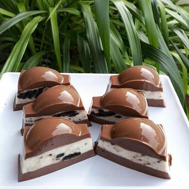Bahan Lapisan Coklat 1 1 Bungkus Agar Agar Coklat 140 Gram Gula Pasir 30 Gram Coklat Bubuk 60 Gram Dark Chocolate Compound I Resep Oreo Pudding Puding Coklat