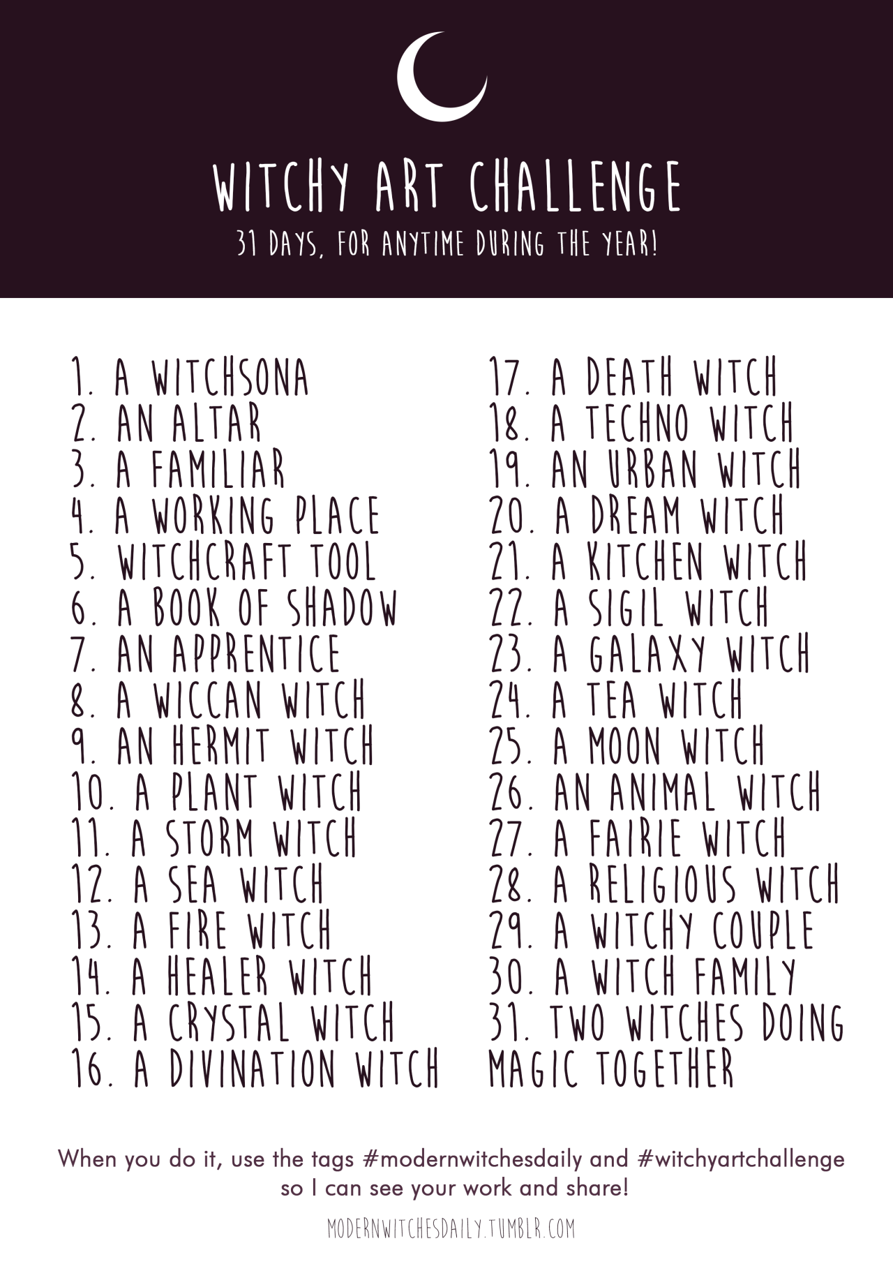 """The Line Art Challenge Sketches For Days : Modernwitchesdaily """"witchy art challenge summer is coming"""