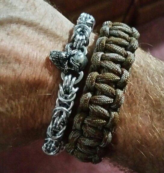 New chain mail bracelet.