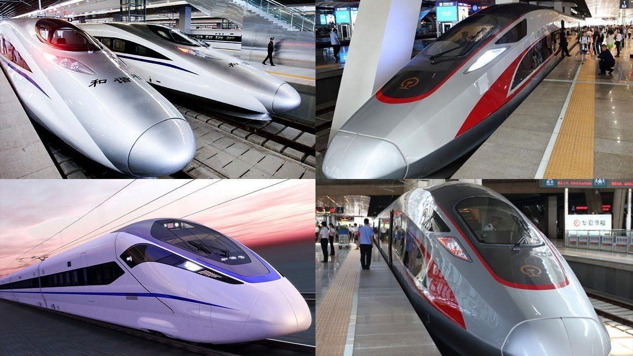 China Unveils The World's Super Fast High Speed Bullet Train