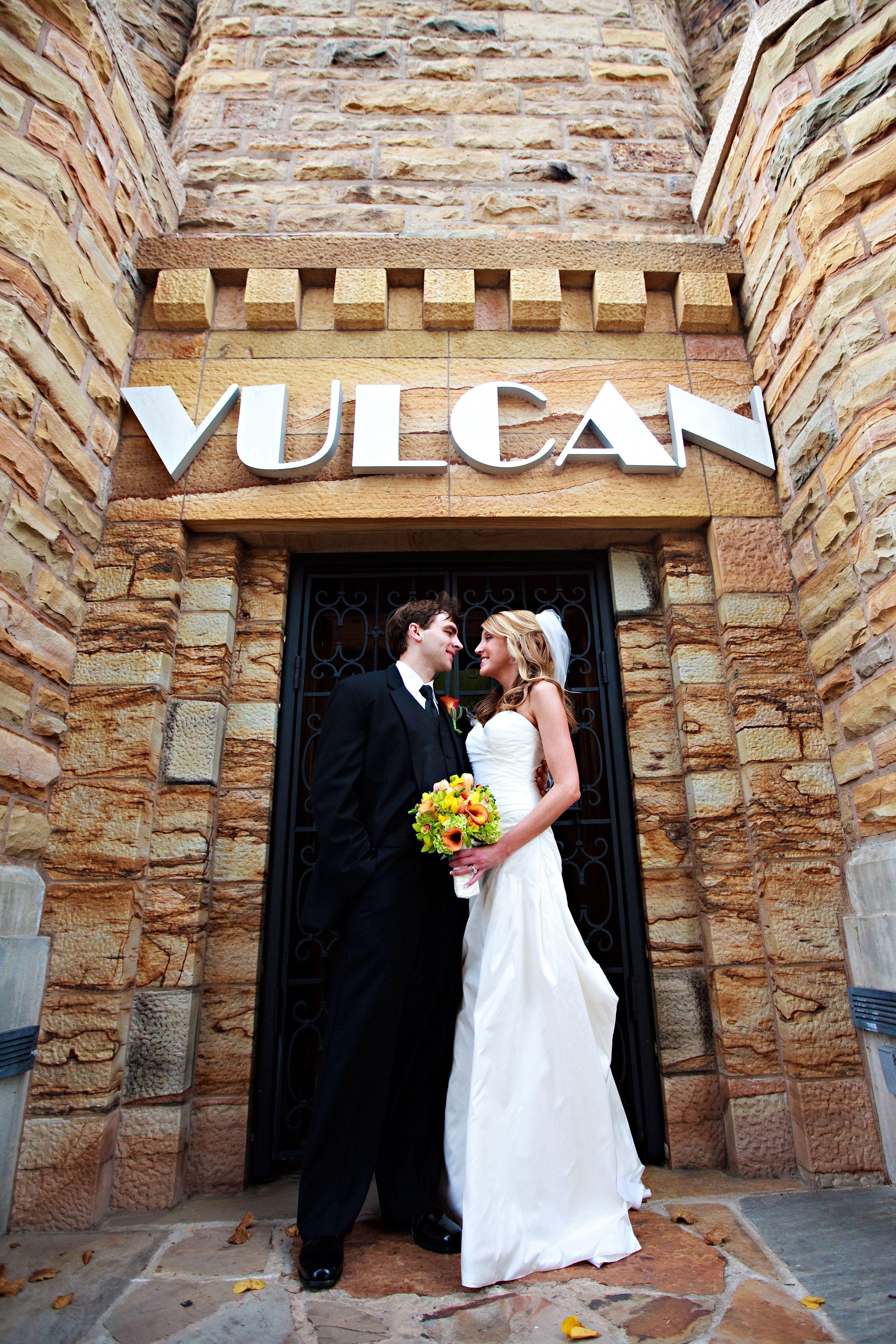 Wedding at Vulcan Park and Museum - Birmingham, AL - Breanna Fog ...
