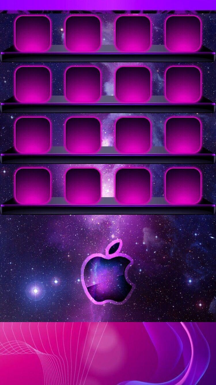 Iphone Galaxy Home Screen Apple Wallpaper Iphone Apple Wallpaper Iphone Wallpaper