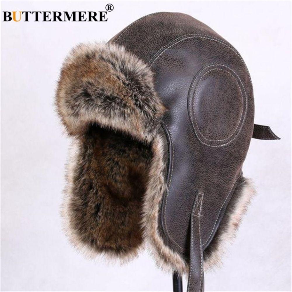 TRIWONDER Winter Trooper Trapper Hat Ushanka Russian Ear Flap Aviator Hat with Mask for Men Women