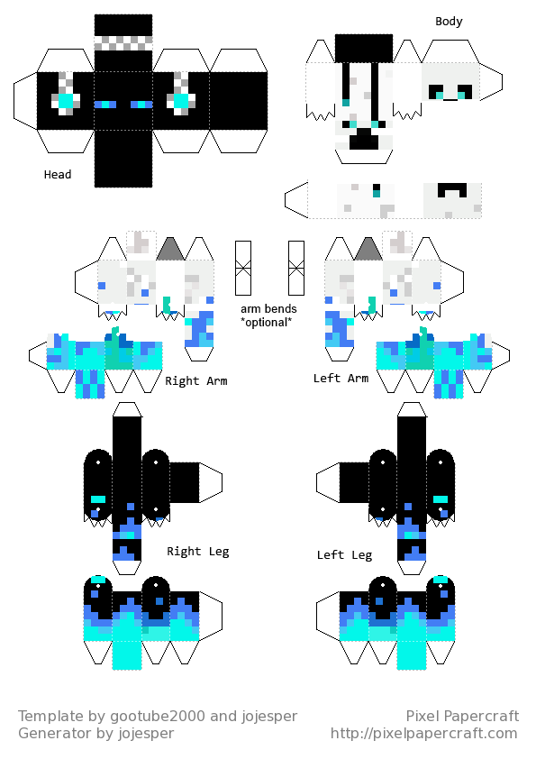 minecraft skins print out - Google Search | print