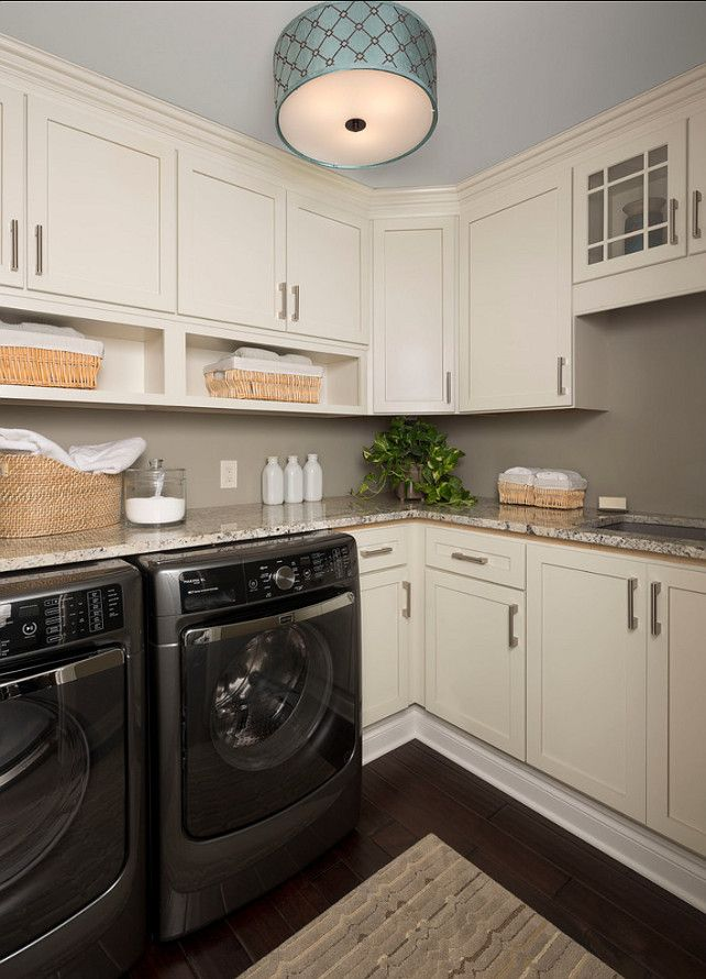 Laundry Room Design. Great Laundry Room. #LaundryRoom #HomeDecor