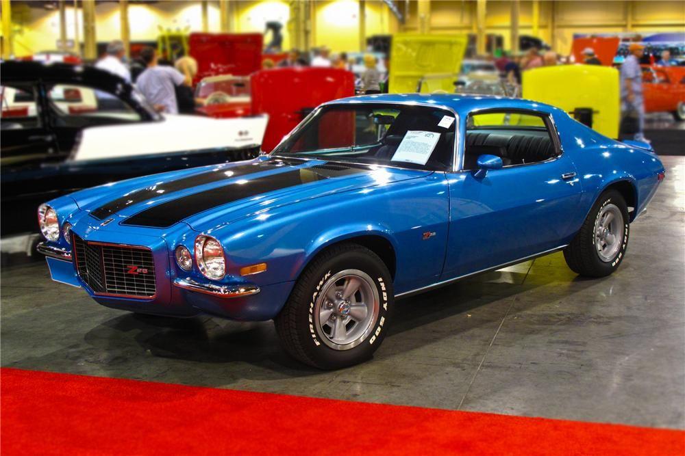 Chevrolet 1970 Chevrolet Camaro Z28 Rare Mulsanne Blue Chevrolet Camaro Camaro Muscle Cars