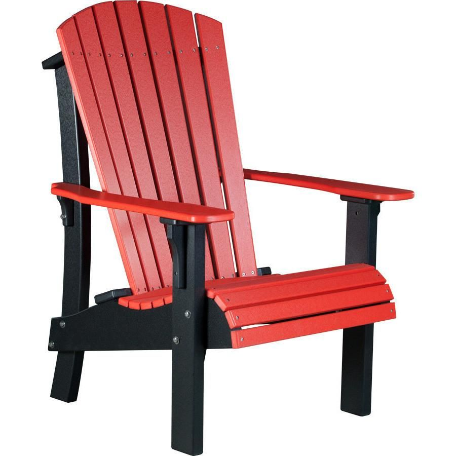 Luxcraft Recycled Plastic Royal Adirondack Chair With