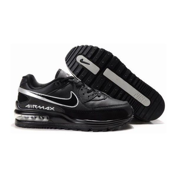 info for 2d116 eafcf Nike Air Max Ltd Uk Black Mesh Shiny Black Logo