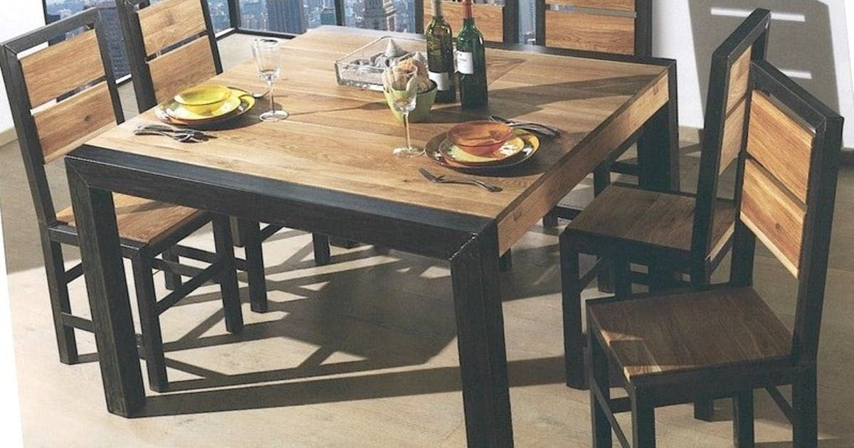 Envie Deco 3 Moderniser La Table De Meme Huguette Chaises De Salle A Manger Design Salle A Manger Bois Table Bois
