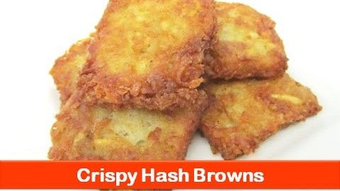 Crispy hash browns recipe/fast food style/breakfast recipes/potato evening snacks-let's be foodie