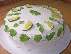Heisenbergs Küche: Mojito - Torte (nichts für Kinder!)