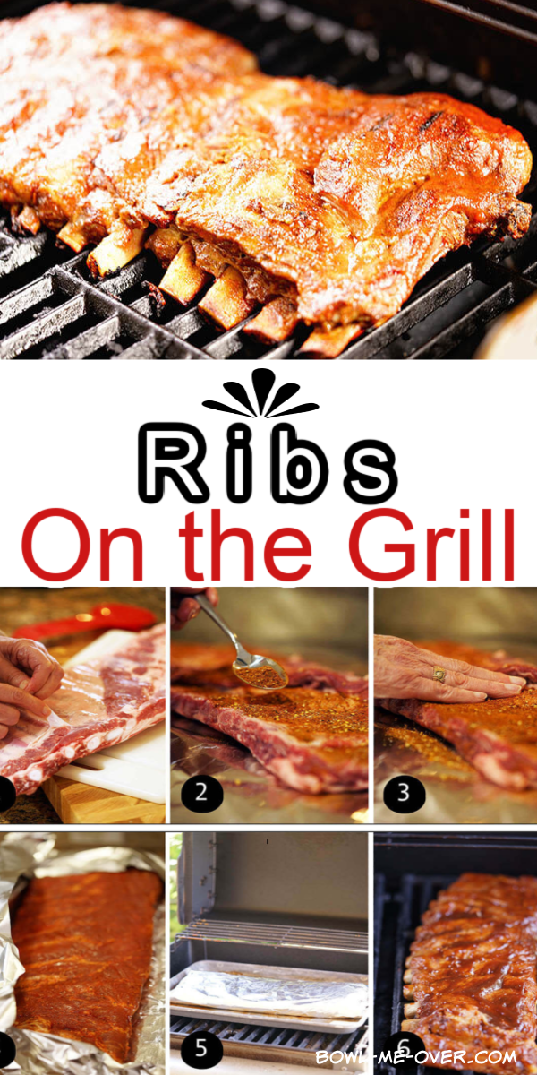 How To Make Fall Off The Bone Tender Ribs On The Grill Recipe Ribs On Grill Bbq Recipes Grilling Recipes