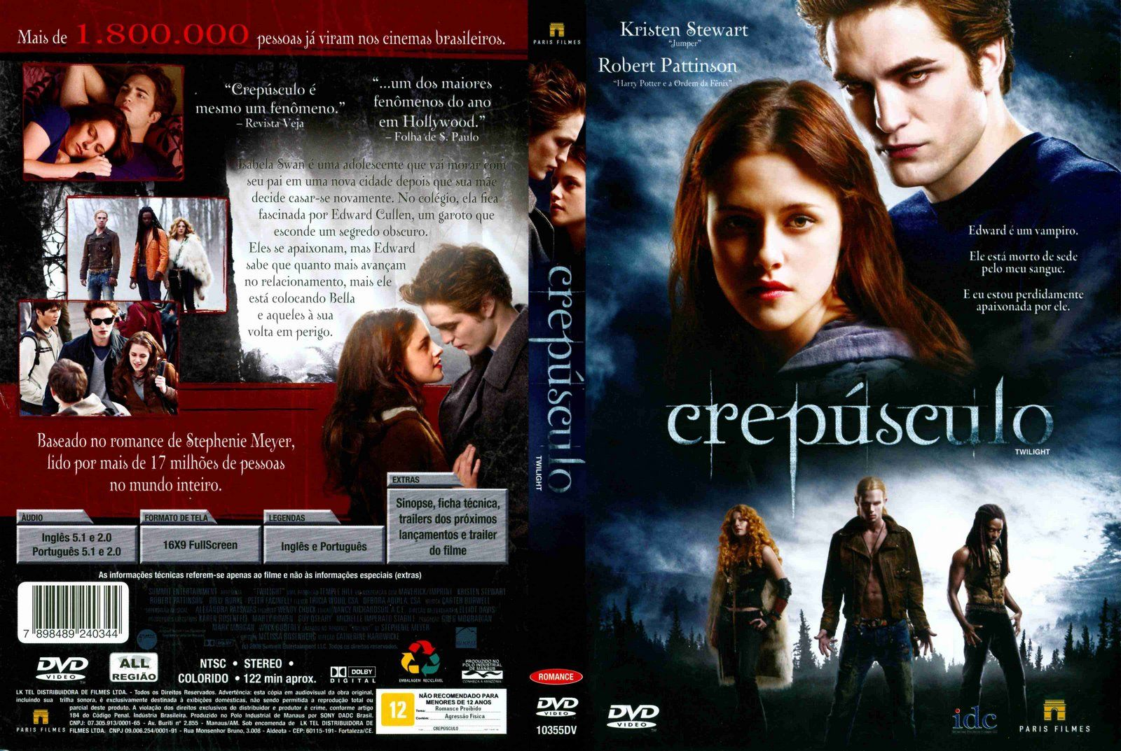 A Saga Crepusculo 03 Amanhecer Robert Pattinson Cinema