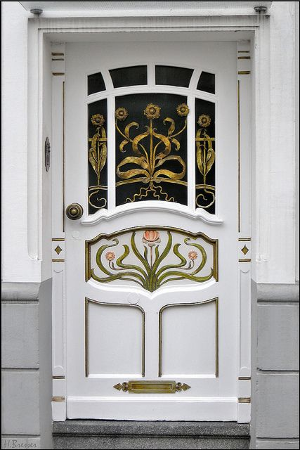 jugendstil haust r art deco front door doors. Black Bedroom Furniture Sets. Home Design Ideas