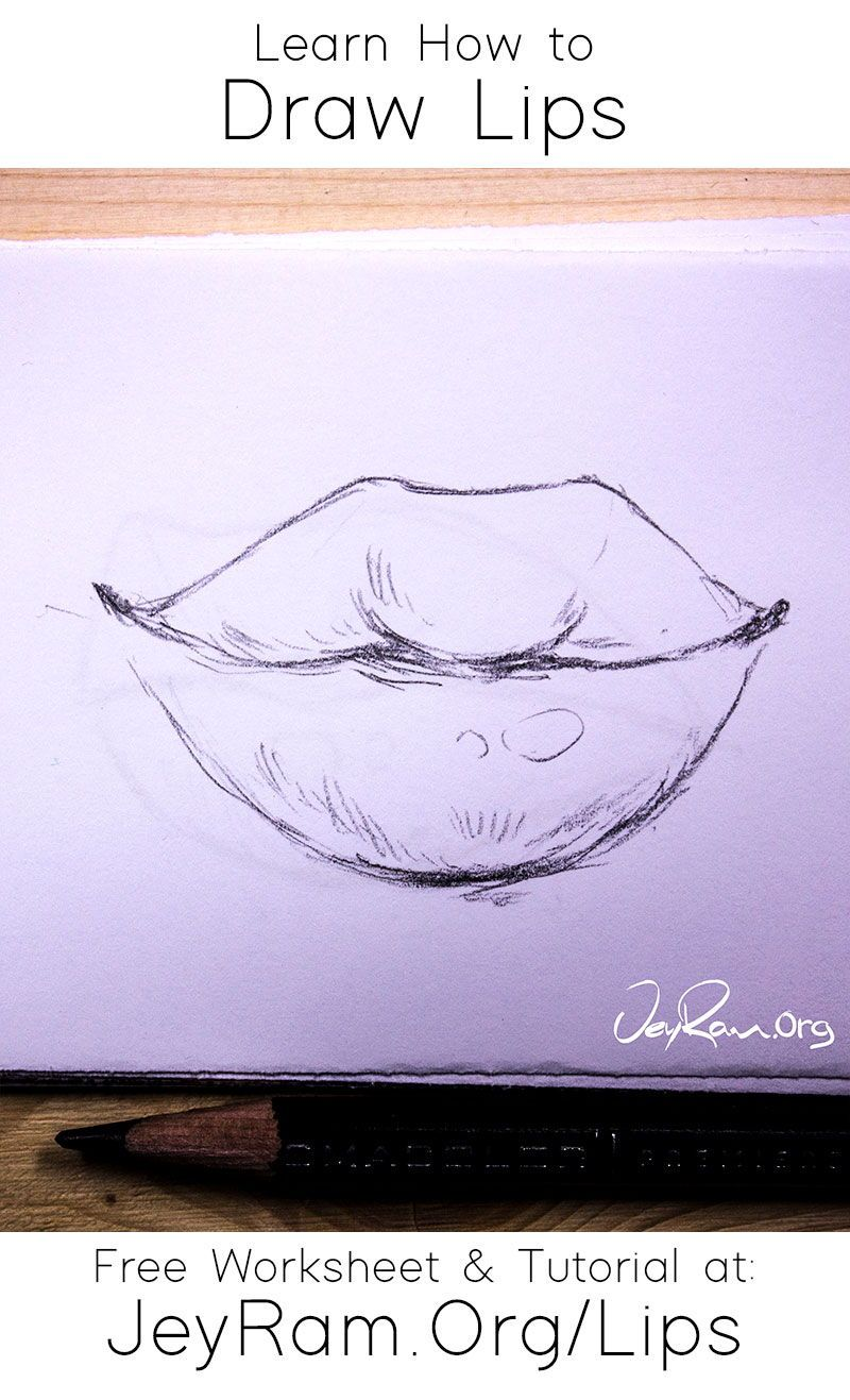How To Draw Lips In 2020 Lips Drawing Drawing Tutorial Face Learn To Sketch