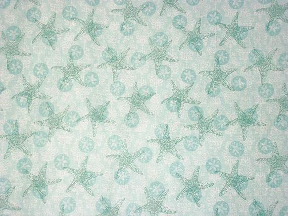 Susan Winget Fabric Starfish By The Yard Boho