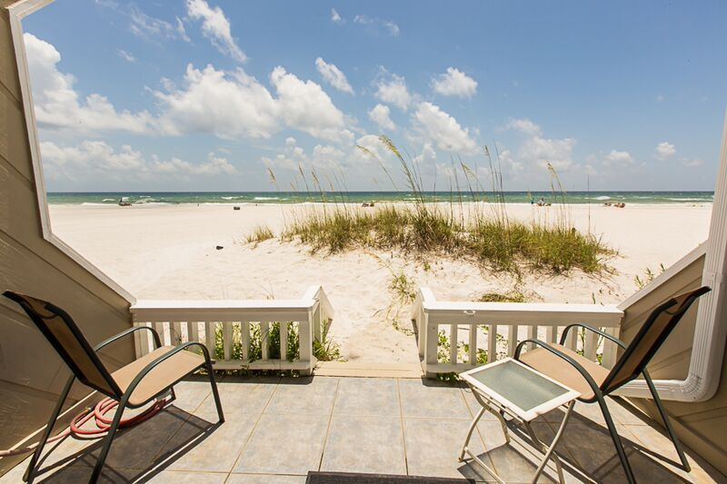 Private Townhome Gulf Front And Beach Front Vacation