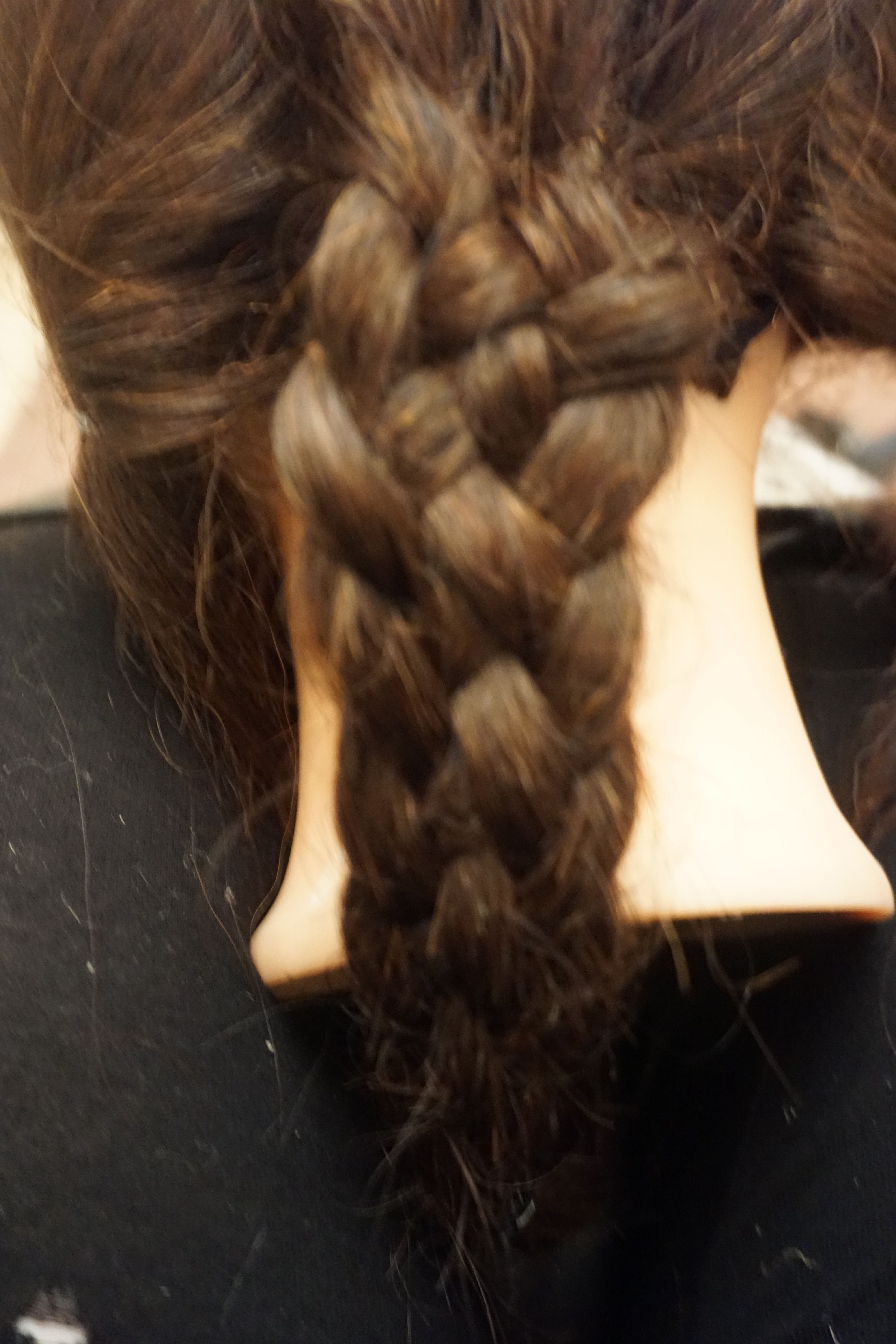 I processed onto trying a stem braid now as i thought this would