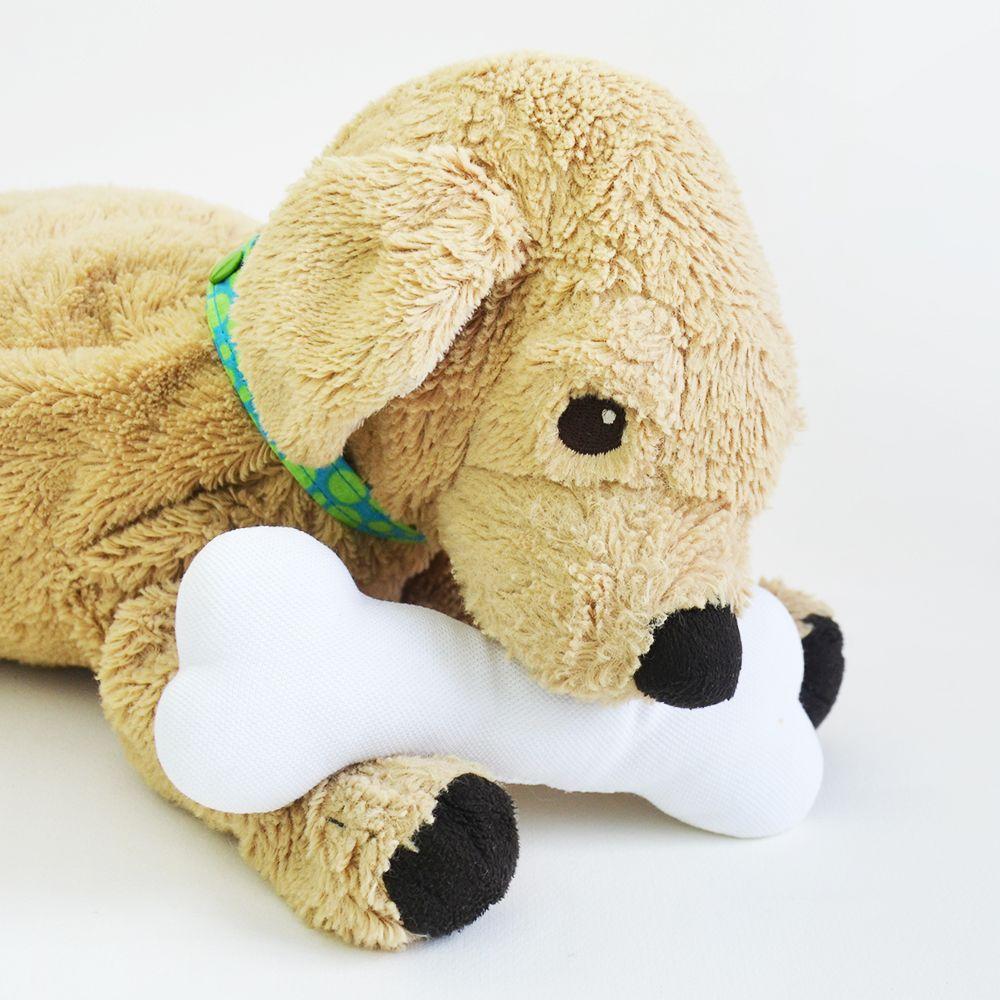 Kids Can Sew Stuffed Animal Dog Bone Free Pattern Sewing