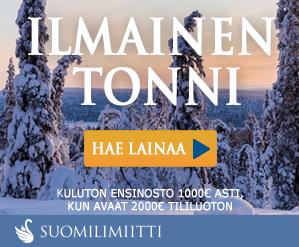 Suomilimiitti | Hae Ilmaista Suomilimiitti Ensilainaa Jopa 1.000€: Sen Jälkeen Tililuottoa 2.000€!