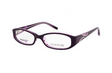 366f21e5026 Cover Girl CG0431 Eyeglass Frames - Violet Frame Color