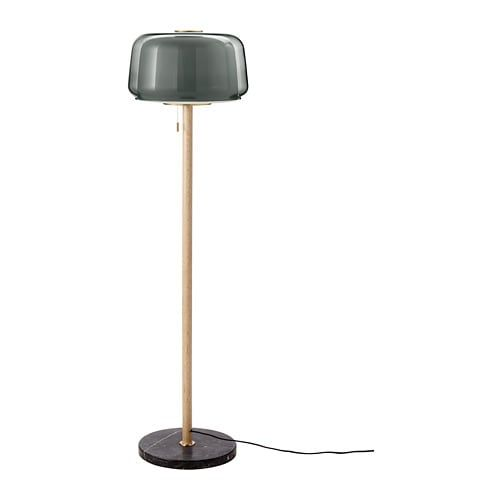 Evedal Golvlampa Marmor Gra Gra Ikea Floor Lamp Grey Floor Lamp Lamp