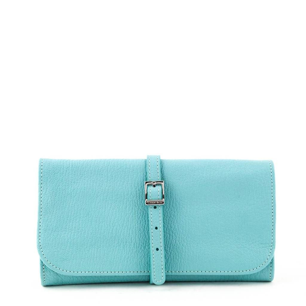 Tiffany Co Turquoise Travel Jewelry Roll Tiffany Accessories Jewelry Roll Travel Jewelry Roll Bags