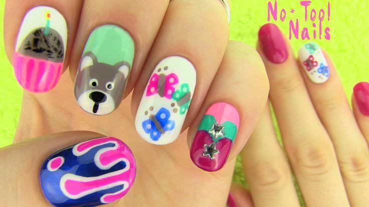 Cool Nails Without Nail Art Tools 5 Nail Art Designs My Fourth No