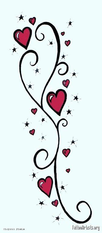 star tattoo flash art hearts stars tattoo stuff to buy pinterest flash. Black Bedroom Furniture Sets. Home Design Ideas