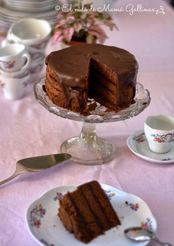 Tarta de chocolate y jalea de vino tinto chocolate cake and foods foods forumfinder Choice Image