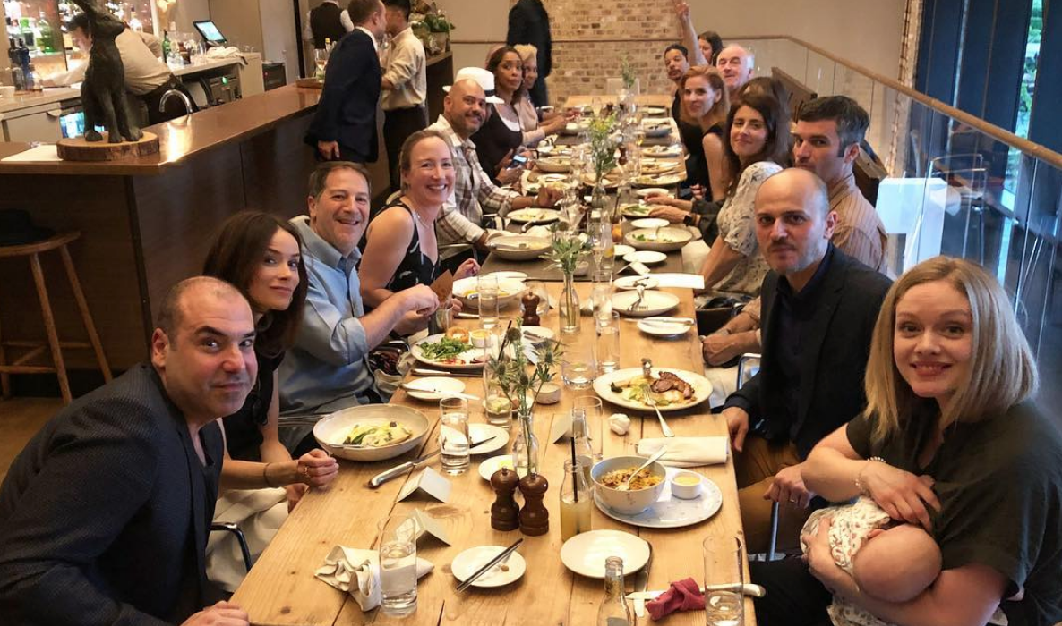 The 'Suits' Cast Is Having Dinner Together Before The