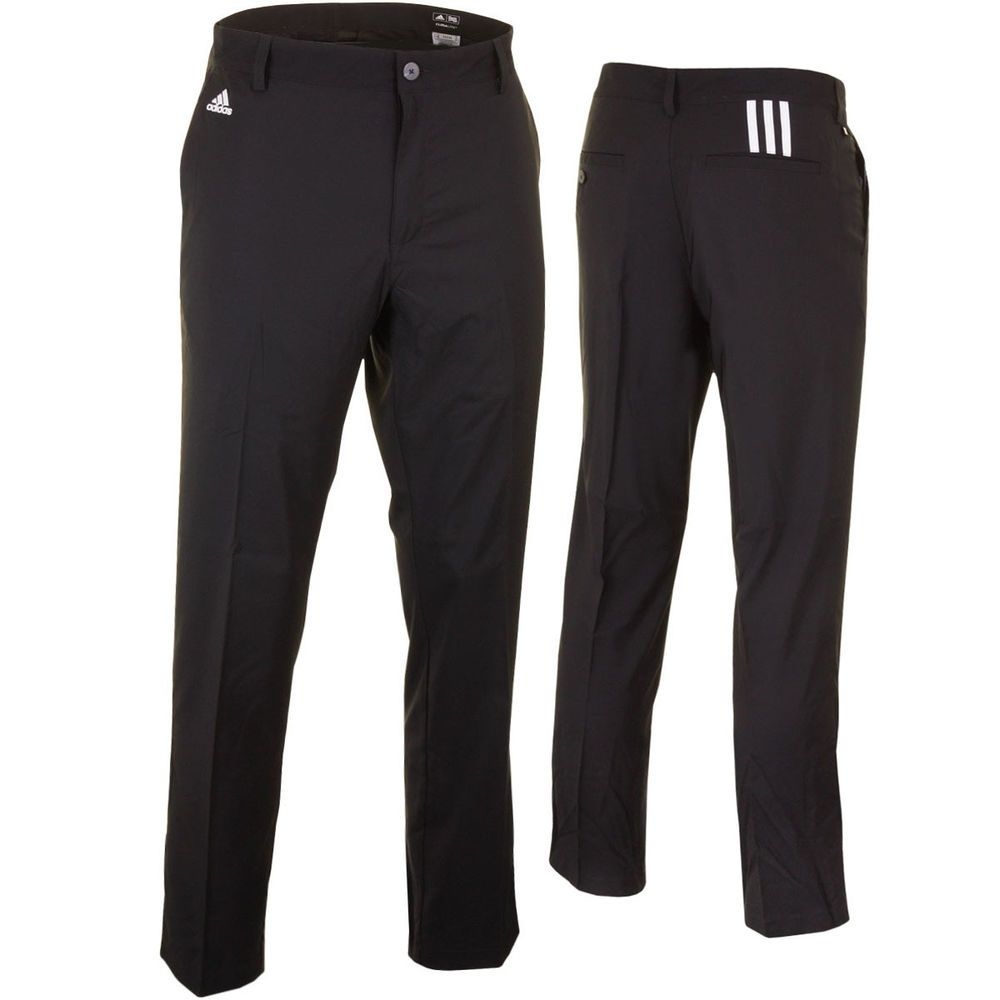 25% OFF RRP Adidas Golf Mens Tech Flat Front Pant Trousers Smart Performance