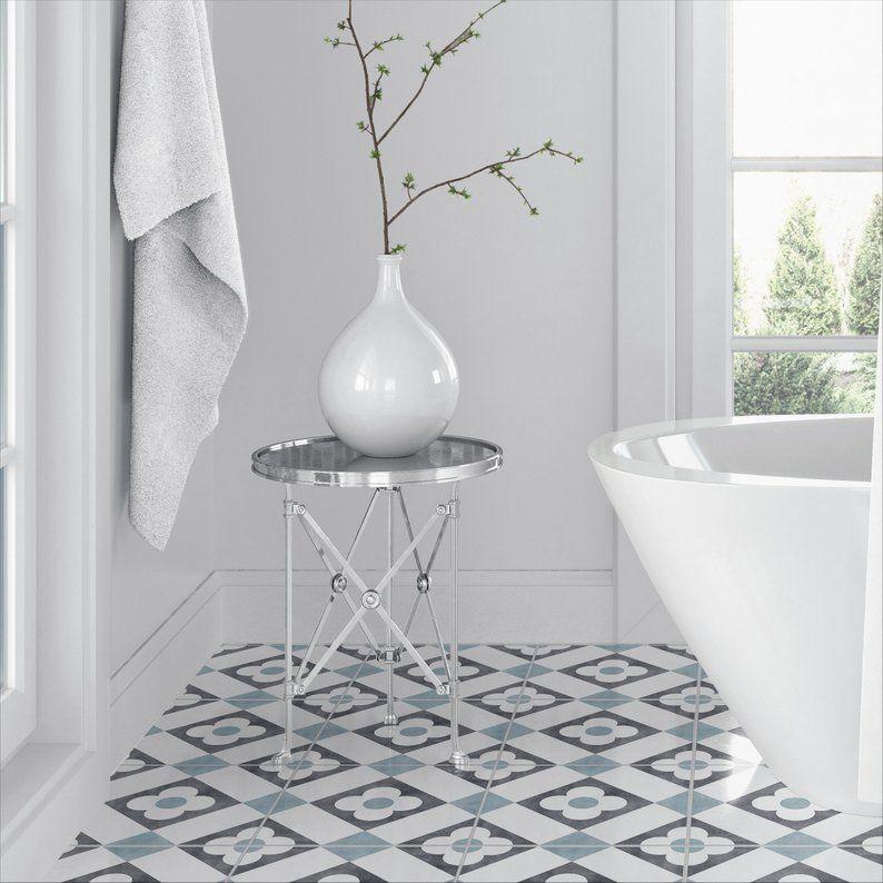 Autocollants Adhesifs Imitation Carrelage Paquet De 10 Etsy Tile Decals Bathroom Wall Floor Graphics