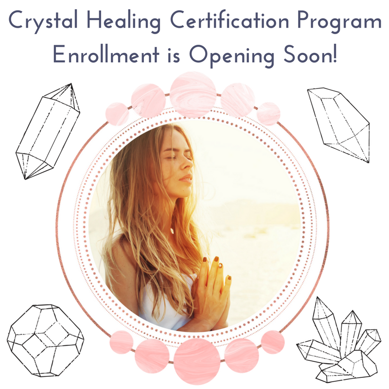 Crystal Healing Certification Program Is So Close To Being Open