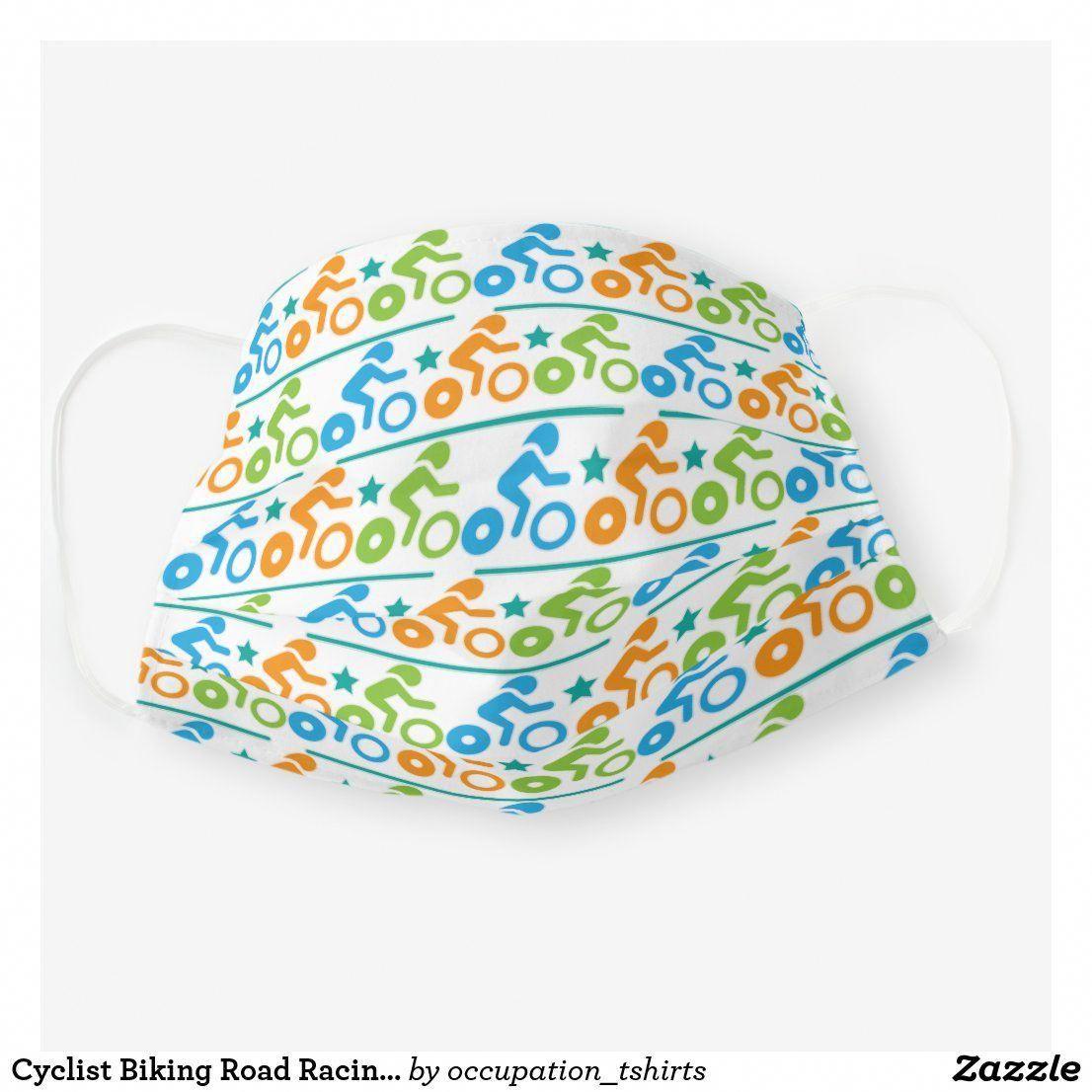 Cyclist Biking Road Racing Gift Cloth Face Mask