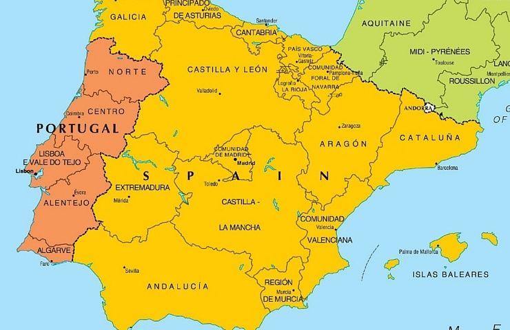 Mapa De Portugal Completo.Mapa De Portugal Entenda Como E Dividido O Pais Morar Em