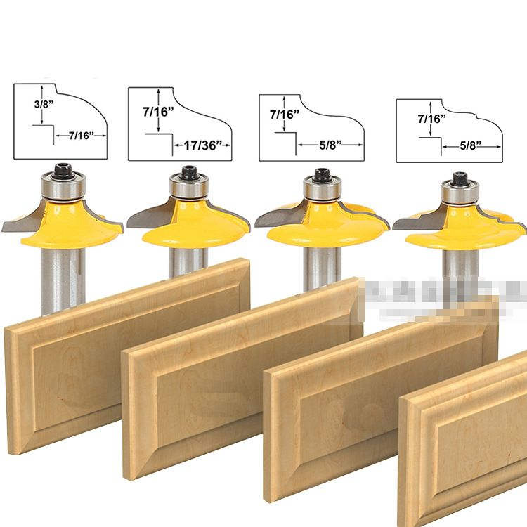 Cheap tool bit set Buy Quality woodworking set directly from China woodworking router bit set Suppliers: 4 pcs Bit Drawer Front and Cabinet Door Front ...