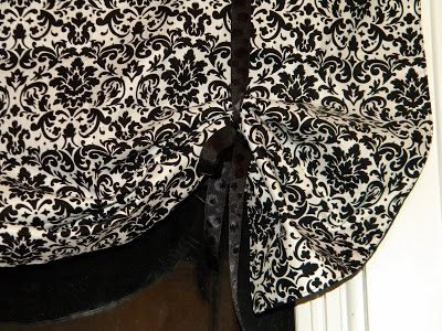 Craft Couture Tutorial Tie Up Curtain Tie Up Curtains Tie Up