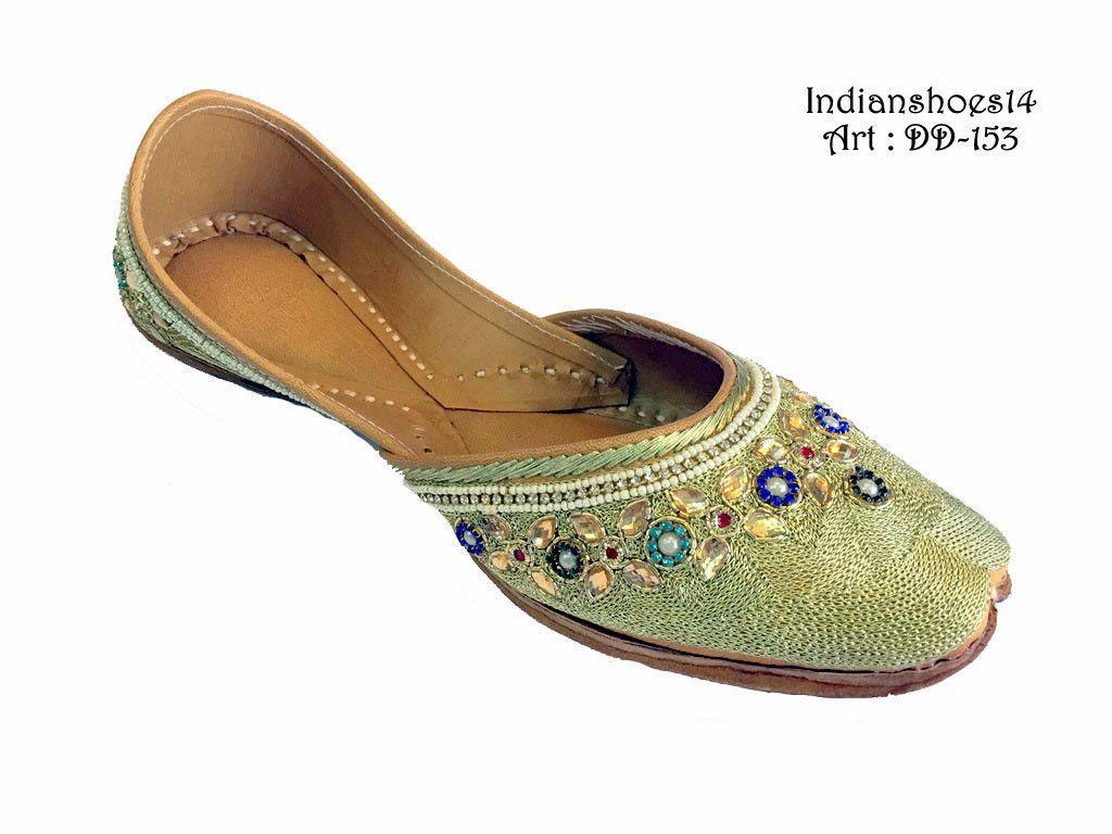 Us to indian bohn emiashoes bridal khussa mojari jutti ethnic
