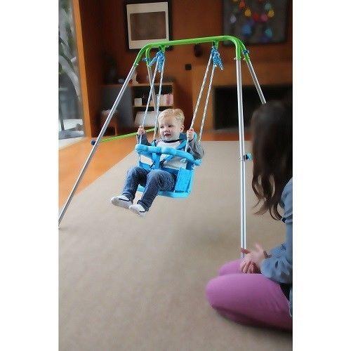 Toddler Outdoor Indoor Swing Set Baby Garden Backyard Play Toy Children  Activity