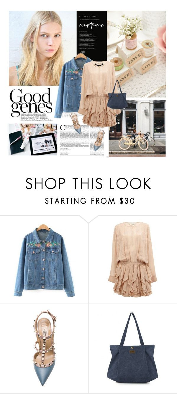 """""""20/04/2017 Rosegal 43"""" by dunoni ❤ liked on Polyvore featuring Faith Connexion, Valentino and rosegal"""